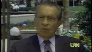 getlinkyoutube.com-Nixon Remembered (4): Weeping at Pat Nixon's Funeral
