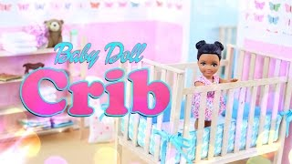 DIY - How to Make: Baby Doll Crib - Handmade - Furniture -Craft - 4K