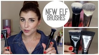 getlinkyoutube.com-NEW ELF Brushes Review, Demo, and Comparisons!  | Bailey B.
