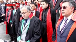 Şehit Savcı  Kiraz'a düzenlenen saldırı Erzincanda kınandı