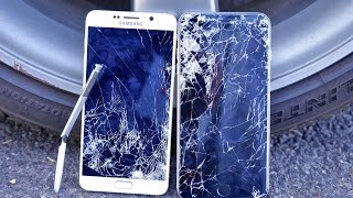 getlinkyoutube.com-Samsung Galaxy Note 5 VS iPhone 6 Plus Drop Test!