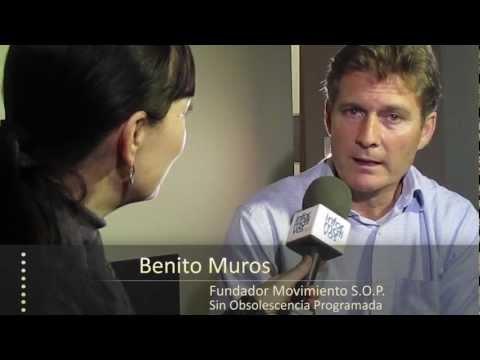 Obsolescencia Programada: entrevista a Benito Muros, creador movimiento S.O.P.