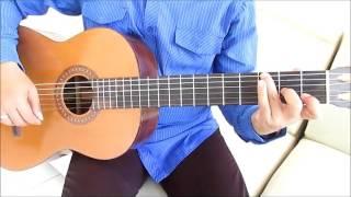 getlinkyoutube.com-Belajar Kunci Gitar Maudy Ayunda Perahu Kertas Intro