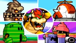Mario & Luigi: Bowser's Inside Story - All Giant Bosses (No Damage)