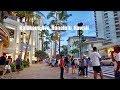 Walking tour of Kalakaua avenue, waikiki, hawaii part1