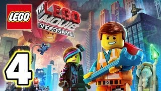 LEGO Movie Videogame Walkthrough PART 4 [PS3] Lets Play Gameplay TRUE-HD QUALITY