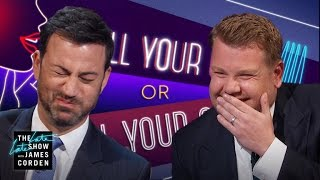 Spill Your Guts or Fill Your Guts w/ Jimmy Kimmel width=