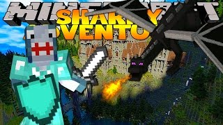 Minecraft Adventure - Sharky and Scuba Steve - FIGHTING DRAGONS!!