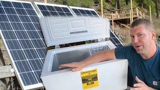 getlinkyoutube.com-DUDE... We Got a CHEST FREEZER! (Appliances & Off Grid Living)