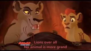 getlinkyoutube.com-The Lion Guard - Lions over all (Zira and Kion's song) with lyrics