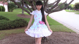 getlinkyoutube.com-DIY Easy Victorian Inspired Classic Dress + Underneath Ruffle Skirt | Lolita Inspired Fashion DIY