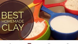 getlinkyoutube.com-Best Homemade Clay: It's better than cooked Cold Porcelain Clay