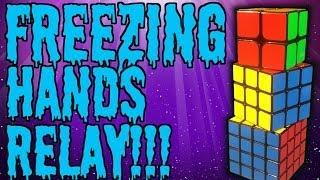 getlinkyoutube.com-2x2-4x4 Relay With Freezing Fingers