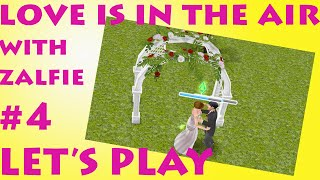 Sims Freeplay | Love Is In The Air quest ft Zoella & Alfie | Lets Play #4