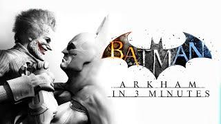 getlinkyoutube.com-All Batman Arkham Games in 3 Minutes! (Batman Arkham Cartoon Animation)