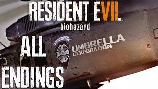 getlinkyoutube.com-Resident Evil 7 - All Endings & Final Boss Fight