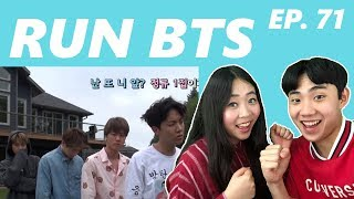 Couple Reacts To: Run BTS Ep. 71 Eng Sub Reaction