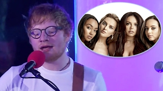 "getlinkyoutube.com-Ed Sheeran SMASHES Cover of Little Mix's ""Touch"" On Radio 1's Live Lounge"