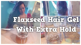 Flaxseed Hair Gel With Extra Hold
