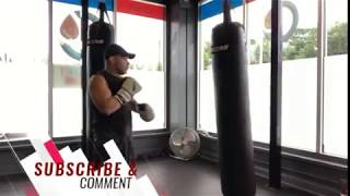 PRO-BOXING TIP: How to Increase Power Hand Speed l Heavy Bag Boxing Lesson