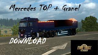 getlinkyoutube.com-Euro Truck Simulator 2 - Mercedes Benz + Granel Top + PX!!!