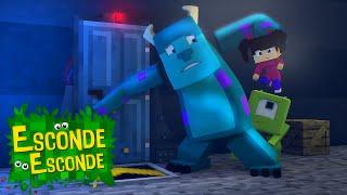 getlinkyoutube.com-Minecraft: MONSTROS S.A. - O FILME! (Esconde-Esconde)