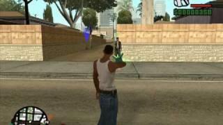 GTA SECRETS 14 :cleo mods: (part 6) / GRAVITY GUN /