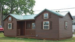 getlinkyoutube.com-14'x32' Cumberland deluxe cabin