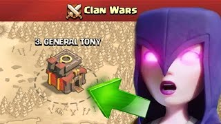 getlinkyoutube.com-Clash Of Clans | 6 STAR CLAN WAR!?! CAN TONY DO IT!?!