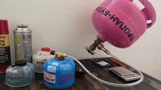getlinkyoutube.com-Заправка газовых баллонов (туристических)