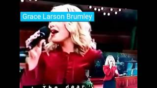 GRACE LARSON BRUMLEY SINGS THE GOSPEL width=