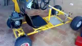 getlinkyoutube.com-Victa Kart: New brake setup