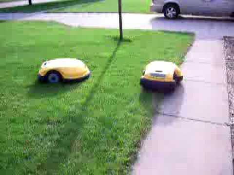 robot lawn mower electric