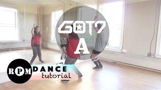 """getlinkyoutube.com-GOT7 """"A"""" Dance Tutorial (Pre-chorus, Chorus, Quick Step)"""