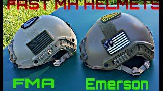 getlinkyoutube.com-FMA vs Emerson: Airsoft Helmets