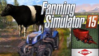 getlinkyoutube.com-Comment nourrir les vaches dans Farming Simulator 2015 / GUIDE / HD /