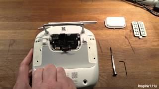 DJI Inspire 1/Phantom Controller disassembly