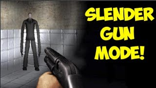 getlinkyoutube.com-SLENDER GUN MODE!