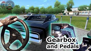 getlinkyoutube.com-City Car Driving 1.3.1 - 1969 Dodge Charger (t500rs th8rs Steering Wheel Simulator Gameplay)HD 1080p