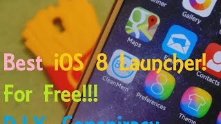 getlinkyoutube.com-BEST FREE iOS 8 LAUNCHER!!!!!!! Android to iOS 8 [Final Part]