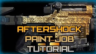 getlinkyoutube.com-Black Ops 3 Paint Job Tutorial | Aftershock Paint Job (Easy)