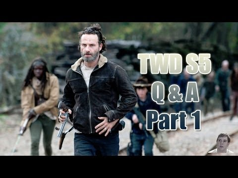 The Walking Dead Season 5 T2 Q and A Part 1 - Answers Segment!