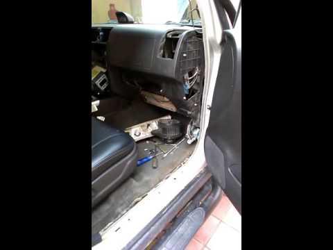Hummer h3 2005 год - проблема с вентилятором печки!