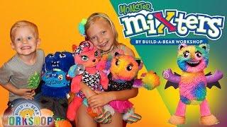 getlinkyoutube.com-The Whole Family Goes to Build-A-Bear!!!