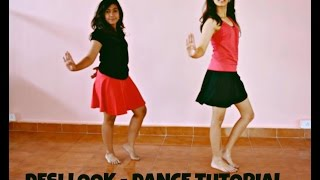 getlinkyoutube.com-Desi Look- Sunny Leone: Bollywood Dance Tutorial | Dynamic Dance Duo