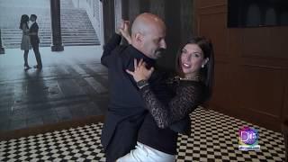 Gaby Romero dió sus primeros pasos en el Tango con el instructor Pablo Repún