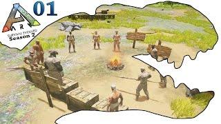getlinkyoutube.com-ARK Survival Evolved Gameplay - S2 Ep1 - Power Leveling - Let's Play
