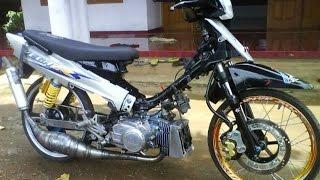 getlinkyoutube.com-Motor Trend Modifikasi | Video Modifikasi Motor Yamaha Fiz R Look Drag Racing Style Terbaru