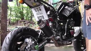 getlinkyoutube.com-KAWASAKI KSR WITH TCR SHORT EXHAUST (ท่อโหดชลบุรี)