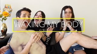 getlinkyoutube.com-WAXING MY BODY II Sebb Argo